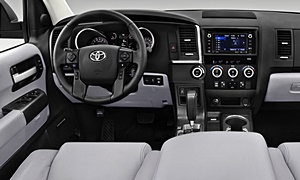 SUV Models at TrueDelta: 2020 Toyota Sequoia interior