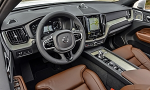 SUV Models at TrueDelta: 2020 Volvo XC60 interior