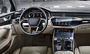 Audi Models at TrueDelta: 2019 Audi A6 interior