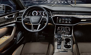 Audi Models at TrueDelta: 2019 Audi A7 interior