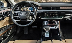Audi Models at TrueDelta: 2019 Audi A8 interior