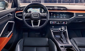 SUV Models at TrueDelta: 2020 Audi Q3 interior