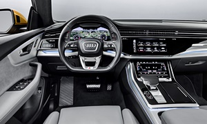 SUV Models at TrueDelta: 2020 Audi Q8 interior