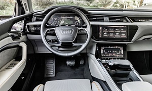 SUV Models at TrueDelta: 2019 Audi e-tron interior