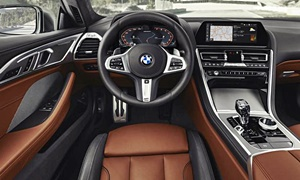Coupe Models at TrueDelta: 2020 BMW 8-Series interior