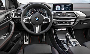 SUV Models at TrueDelta: 2020 BMW X4 interior
