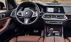 SUV Models at TrueDelta: 2020 BMW X5 interior
