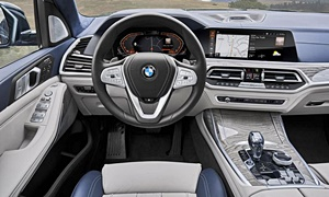 SUV Models at TrueDelta: 2020 BMW X7 interior