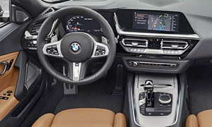Convertible Models at TrueDelta: 2020 BMW Z4 interior