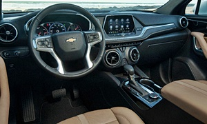SUV Models at TrueDelta: 2020 Chevrolet Blazer interior