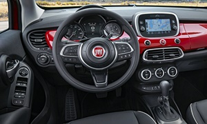 SUV Models at TrueDelta: 2020 Fiat 500X interior