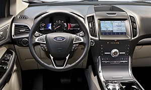 SUV Models at TrueDelta: 2020 Ford Edge interior