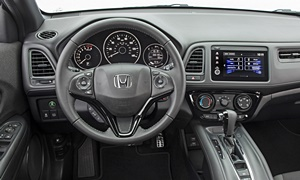 Honda Models at TrueDelta: 2019 Honda HR-V interior