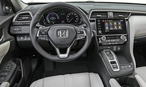 Honda Models at TrueDelta: 2020 Honda Insight interior