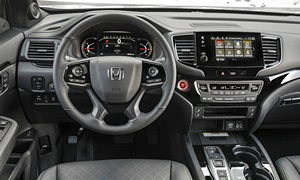 Honda Models at TrueDelta: 2019 Honda Passport interior