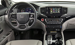 Honda Models at TrueDelta: 2020 Honda Pilot interior