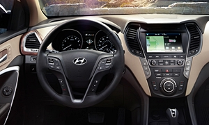 SUV Models at TrueDelta: 2019 Hyundai Santa Fe XL interior