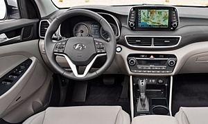 SUV Models at TrueDelta: 2020 Hyundai Tucson interior