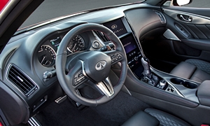 SUV Models at TrueDelta: 2020 Infiniti QX50 interior