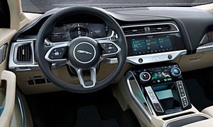 SUV Models at TrueDelta: 2020 Jaguar I-Pace interior
