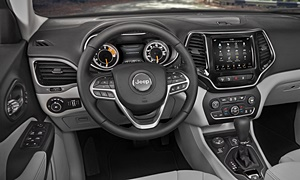 SUV Models at TrueDelta: 2020 Jeep Cherokee interior
