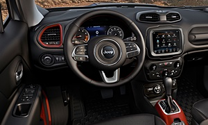 SUV Models at TrueDelta: 2020 Jeep Renegade interior