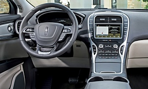 SUV Models at TrueDelta: 2020 Lincoln Nautilus interior
