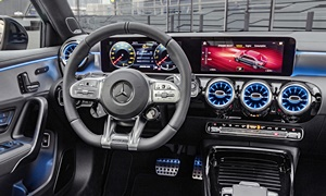Mercedes-Benz Models at TrueDelta: 2020 Mercedes-Benz A-Class interior