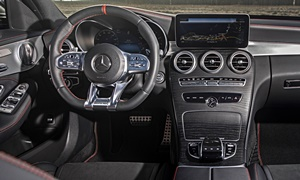 Coupe Models at TrueDelta: 2020 Mercedes-Benz C-Class interior