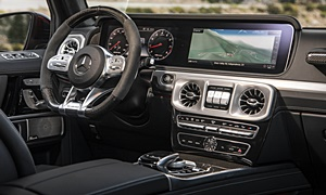 Mercedes-Benz Models at TrueDelta: 2019 Mercedes-Benz G-Class interior
