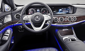 Mercedes-Benz Models at TrueDelta: 2020 Mercedes-Benz Maybach S-Class interior