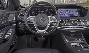 Coupe Models at TrueDelta: 2020 Mercedes-Benz S-Class interior