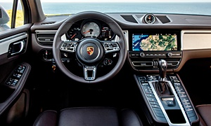 SUV Models at TrueDelta: 2020 Porsche Macan interior