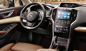 SUV Models at TrueDelta: 2020 Subaru Ascent interior