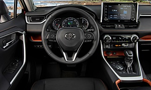 SUV Models at TrueDelta: 2020 Toyota RAV4 interior