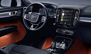 SUV Models at TrueDelta: 2020 Volvo XC40 interior