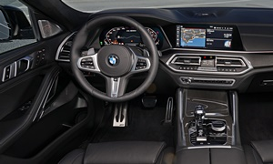 SUV Models at TrueDelta: 2020 BMW X6 interior