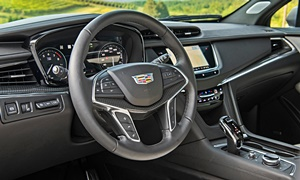 SUV Models at TrueDelta: 2020 Cadillac XT5 interior