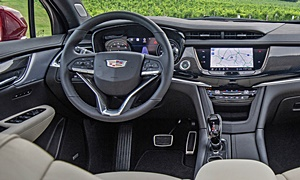 SUV Models at TrueDelta: 2020 Cadillac XT6 interior