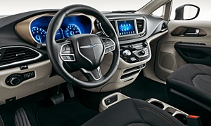 Chrysler Models at TrueDelta: 2021 Chrysler Voyager interior