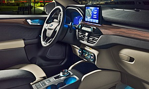 SUV Models at TrueDelta: 2020 Ford Escape interior
