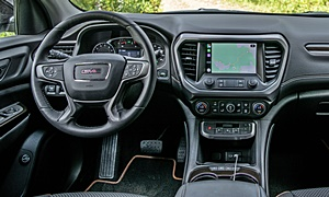 SUV Models at TrueDelta: 2020 GMC Acadia interior