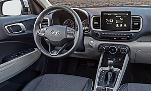 SUV Models at TrueDelta: 2020 Hyundai Venue interior