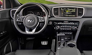 SUV Models at TrueDelta: 2020 Kia Sportage interior