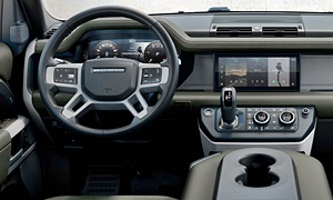 SUV Models at TrueDelta: 2020 Land Rover Defender interior