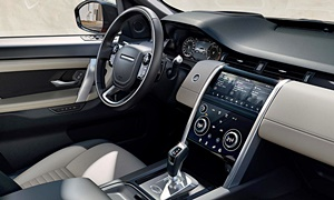 SUV Models at TrueDelta: 2020 Land Rover Discovery Sport interior