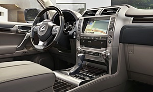 SUV Models at TrueDelta: 2020 Lexus GX interior