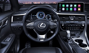 SUV Models at TrueDelta: 2020 Lexus RX interior