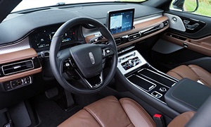 SUV Models at TrueDelta: 2020 Lincoln Aviator interior