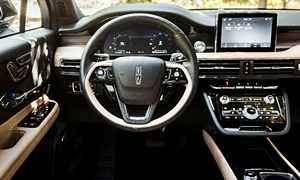 SUV Models at TrueDelta: 2020 Lincoln Corsair interior